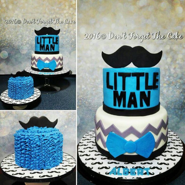 Mustache 1st Birthday Boy Smash Cake Ideas
