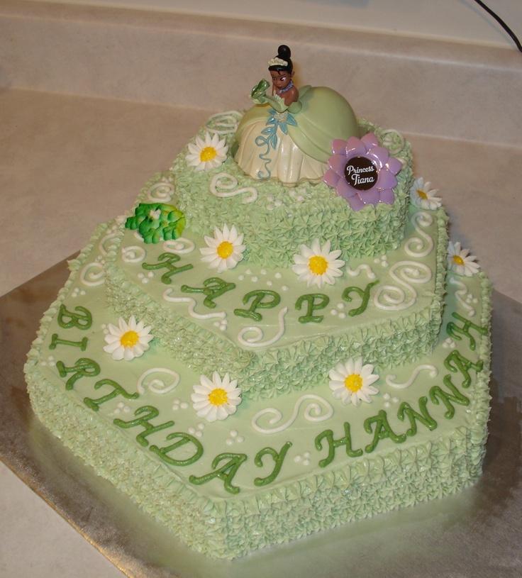 12 Tier And The Frog Princess Birthday Cakes Photo Princess Tiana
