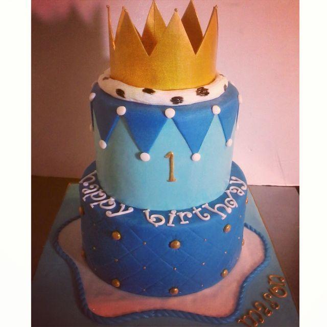 Royal King Birthday Cake