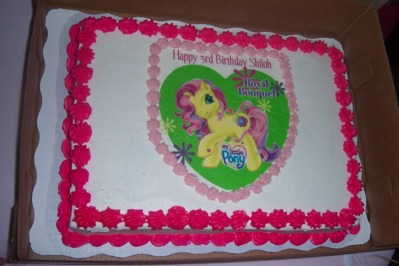 Sams Club My Little Pony Cake