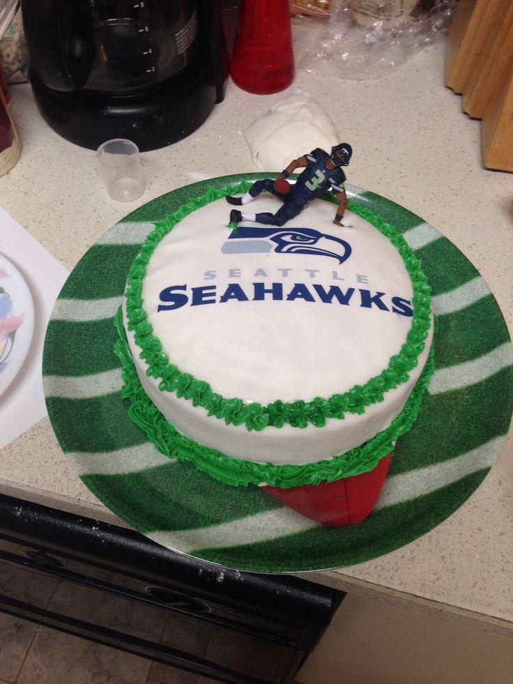 Seahawks Happy Birthday Cake