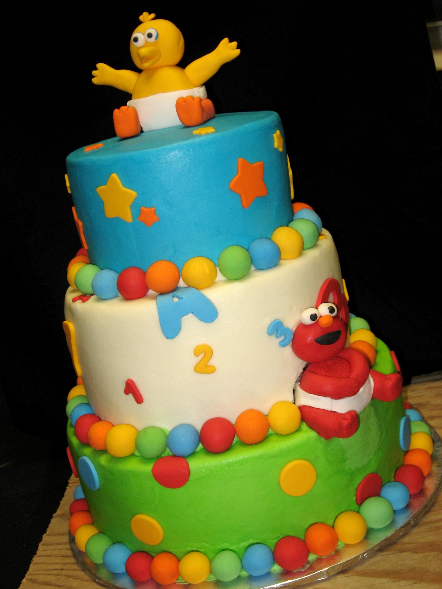 Terrific 6 Baby Sesame Cakes Photo Sesame Street Baby Cake Sesame Street Personalised Birthday Cards Petedlily Jamesorg
