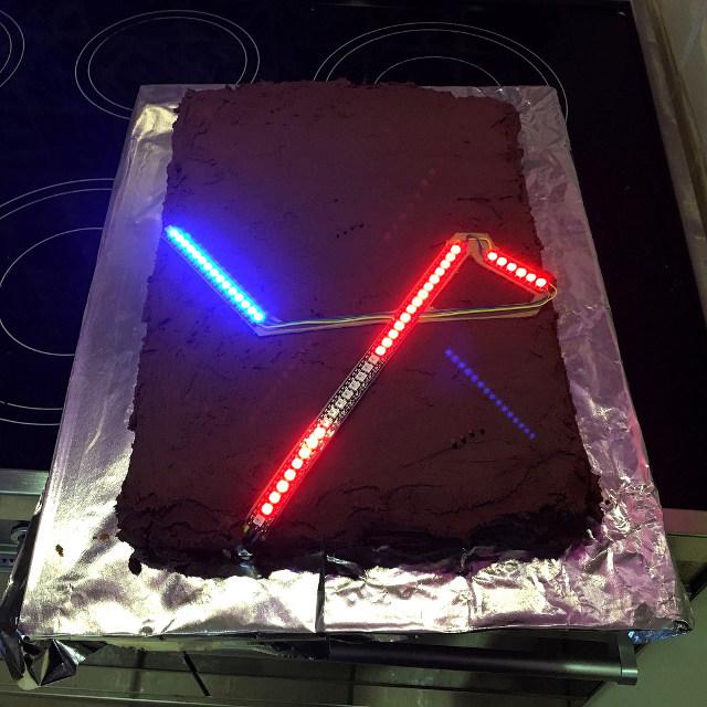 Admirable 13 Star Wars Lightsaber Birthday Cakes Photo Star Wars Birthday Funny Birthday Cards Online Sheoxdamsfinfo