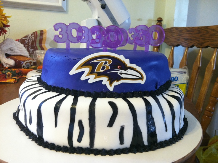 Groovy 8 Ravens Football Birthday Cakes Photo Baltimore Ravens Happy Personalised Birthday Cards Epsylily Jamesorg