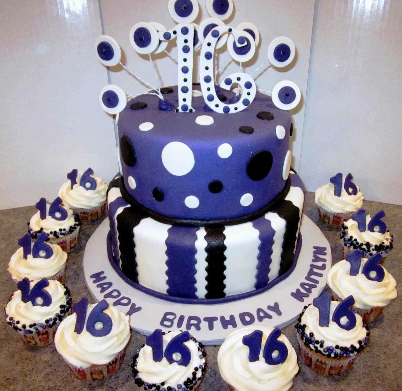 9 16 Boys Birthday Cakes Ideas Photo Boys 16th Birthday Party