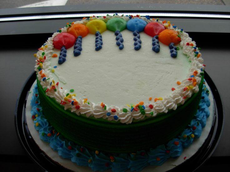 84 D Q Birthday Ice Cream Cake