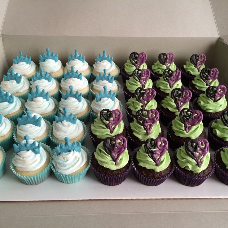 Descendants 2 Evie Cake Cupcakes