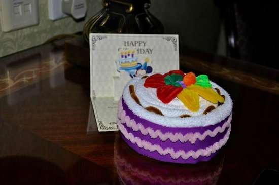 Disneyland Hotel Birthday Cake