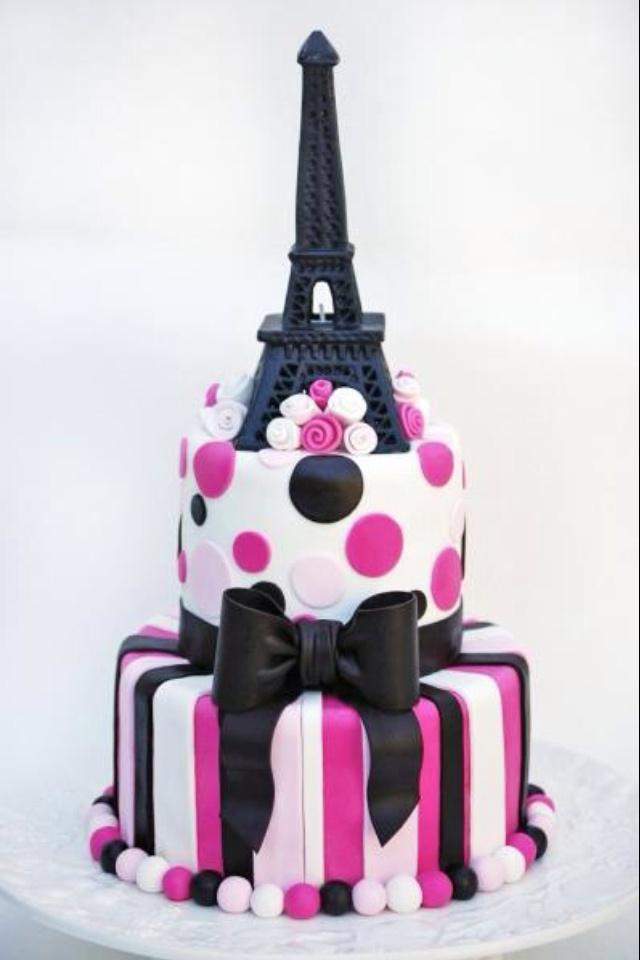 Incredible 12 Paris Birthday Cakes Photo Paris Theme Birthday Cake Paris Funny Birthday Cards Online Alyptdamsfinfo