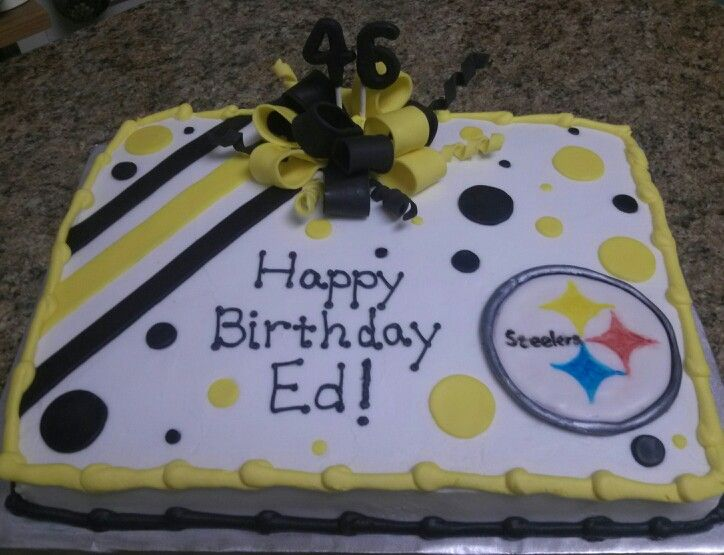 7 Pittsburgh Bakeries Birthday Cakes Photo Pittsburgh Steelers
