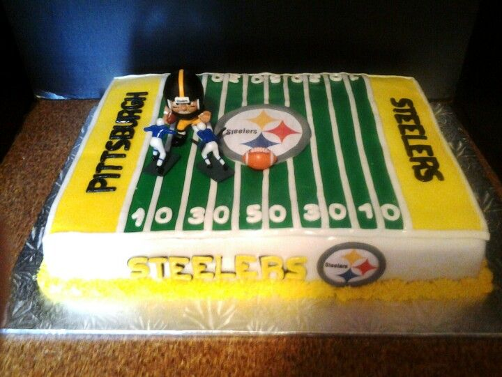 Swell 7 Pittsburgh Bakeries Birthday Cakes Photo Pittsburgh Steelers Funny Birthday Cards Online Aeocydamsfinfo