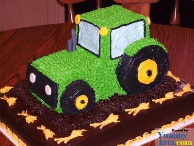 Sensational 11 Tractor Cakes For Baby Boys Photo Tractor Birthday Cake Ideas Funny Birthday Cards Online Unhofree Goldxyz