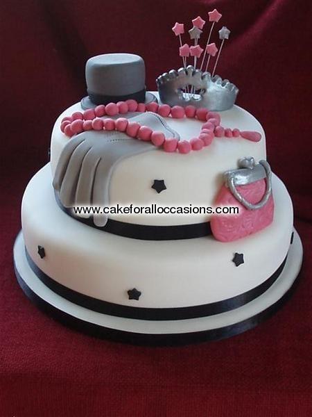 Unique Women Birthday Cakes