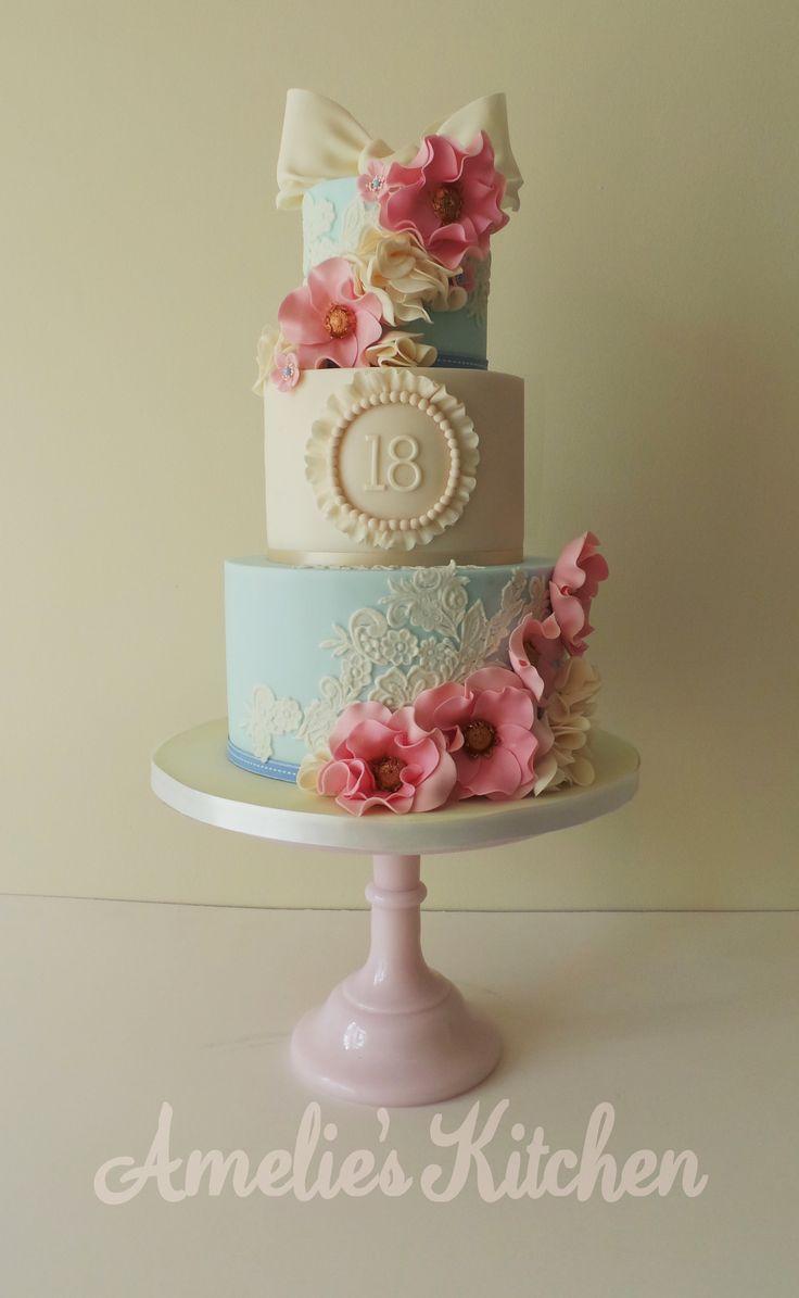 11 Vintage Beth Birthday Cakes Photo Happy Birthday Beth Cake