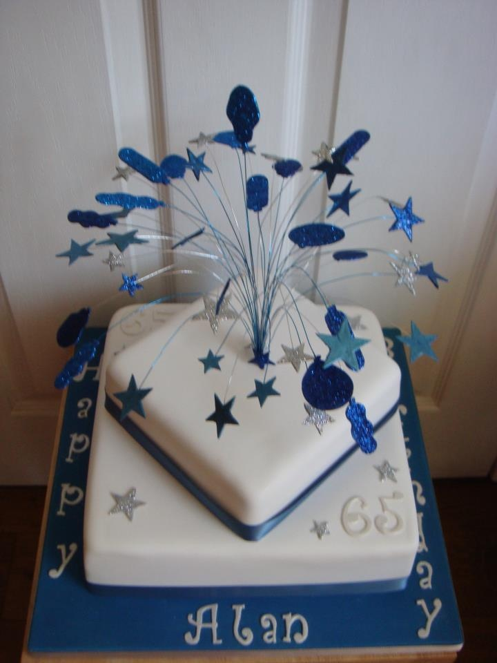 9 65th Birthday Cakes For Men Photo