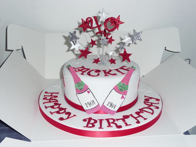 Women 40th Birthday Cake Ideas
