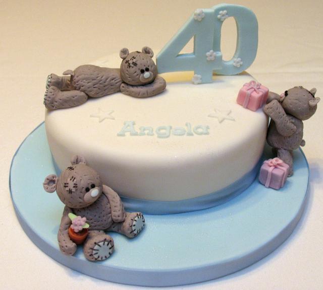 Women 40th Birthday Cake Ideas