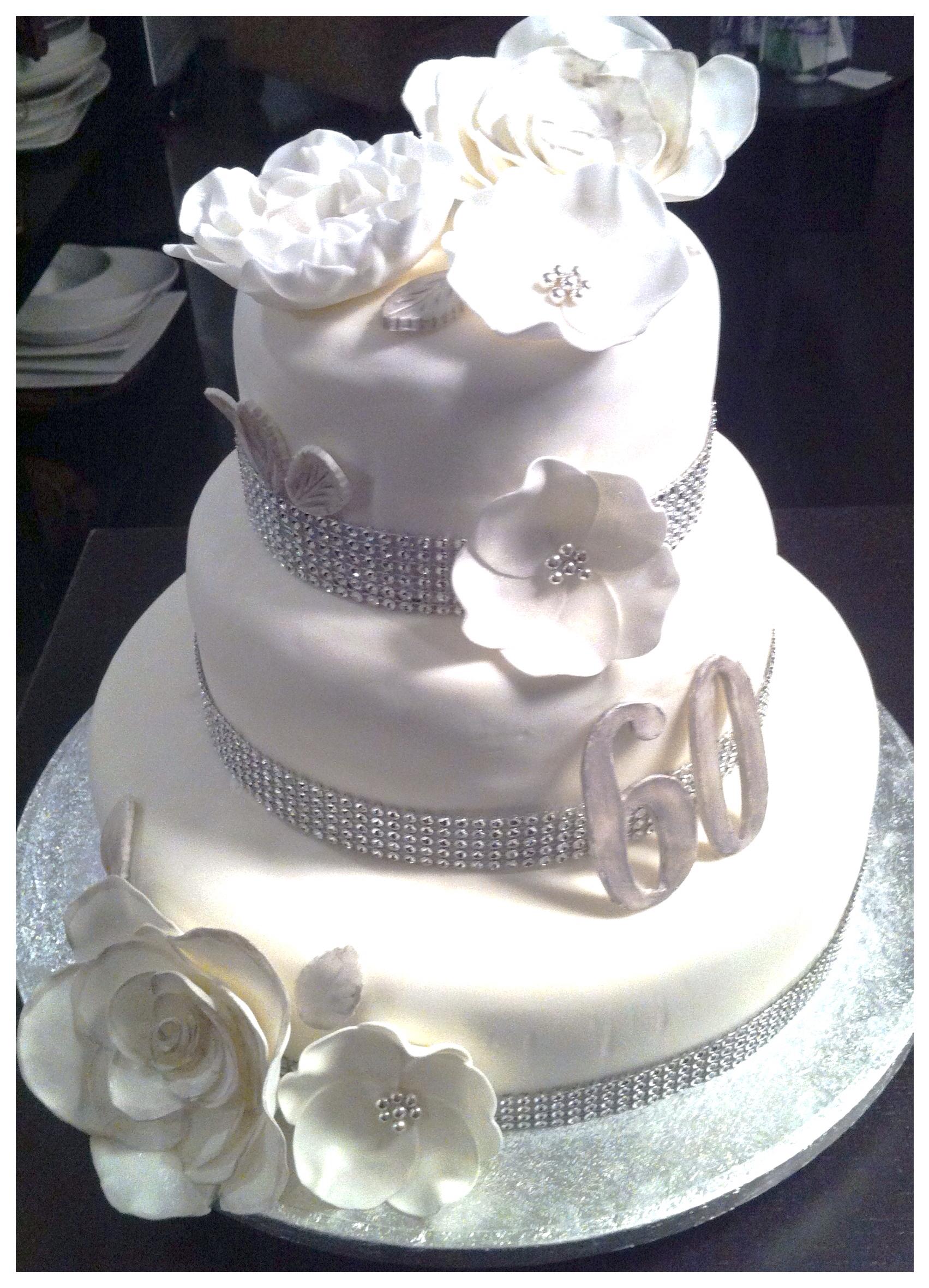 8 60th Wedding Anniversary Cupcakes Photo 60th Anniversary