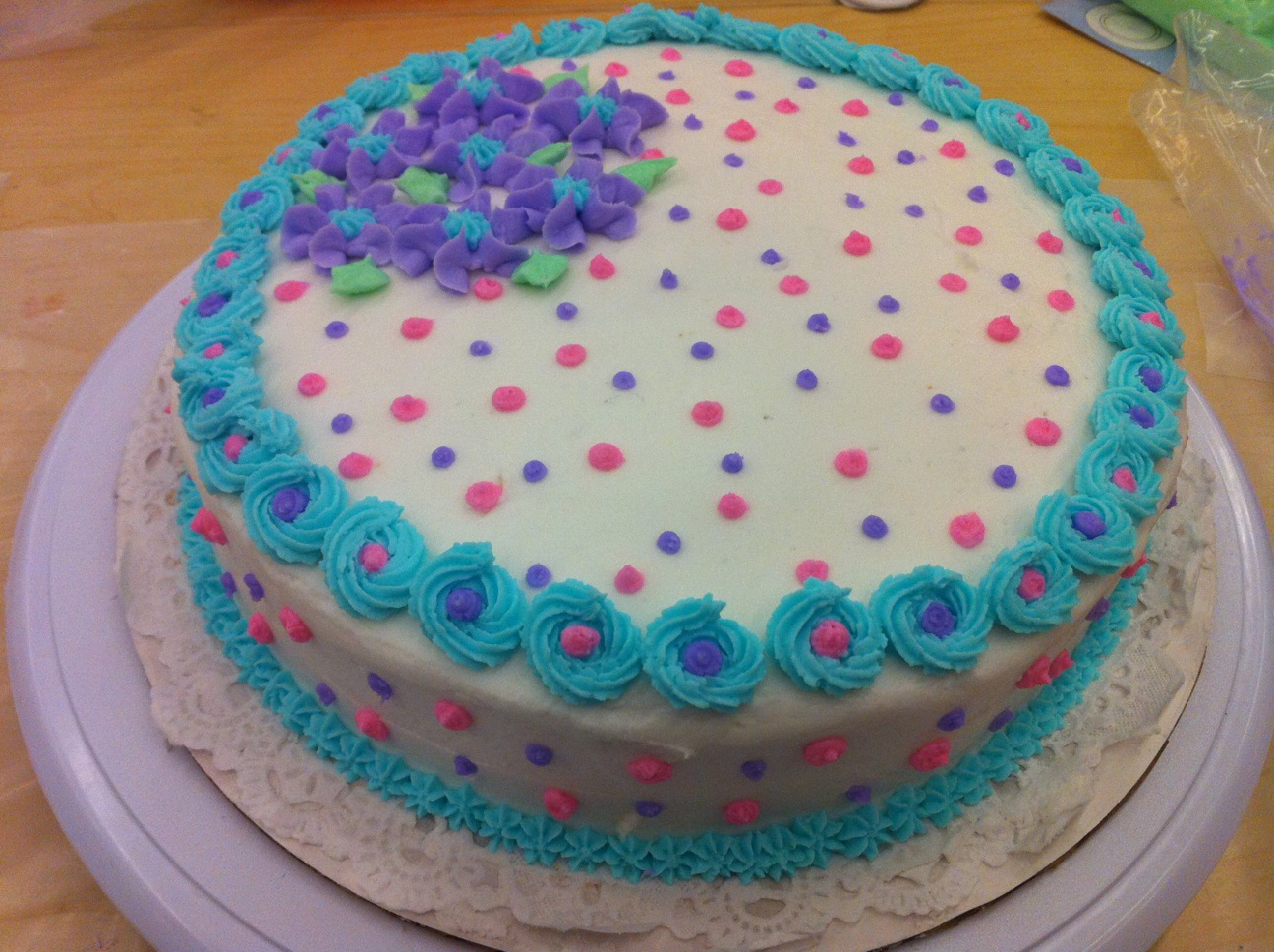 6 10 Decorated Cakes Photo Cakes Decorated with Buttercream