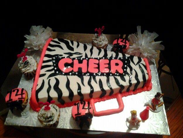 5 Ingles Bakery Graduation Cakes Photo Cheerleading Birthday Party