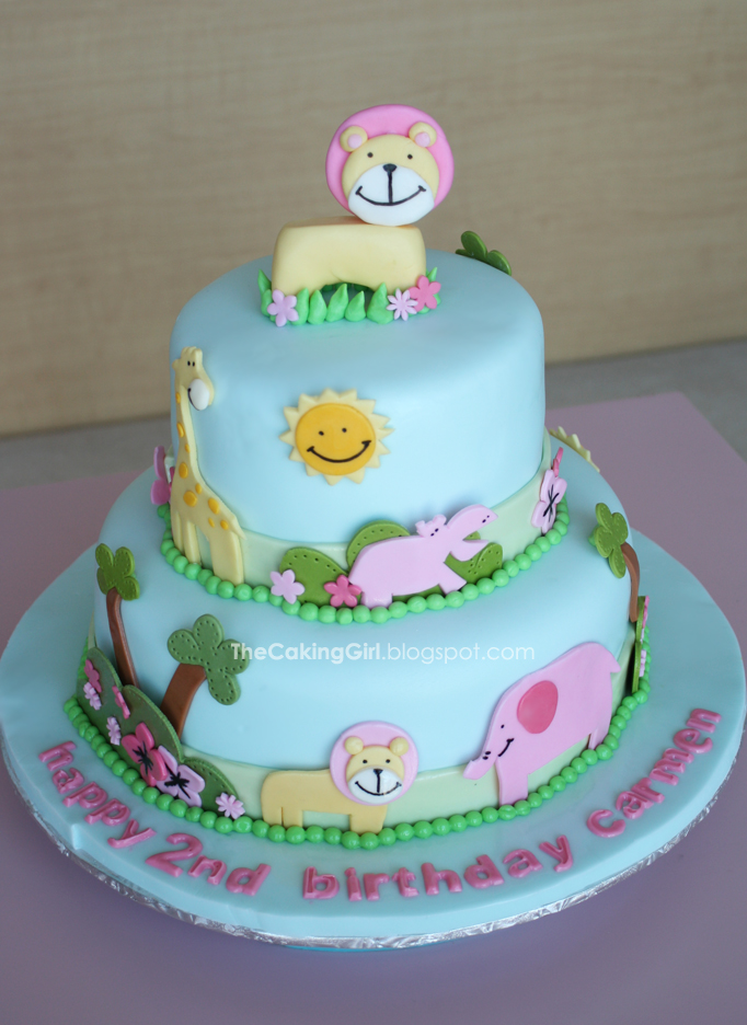 Outstanding 10 Cute Animal Cakes Photo Cute Animal Birthday Cake Cute Funny Birthday Cards Online Alyptdamsfinfo