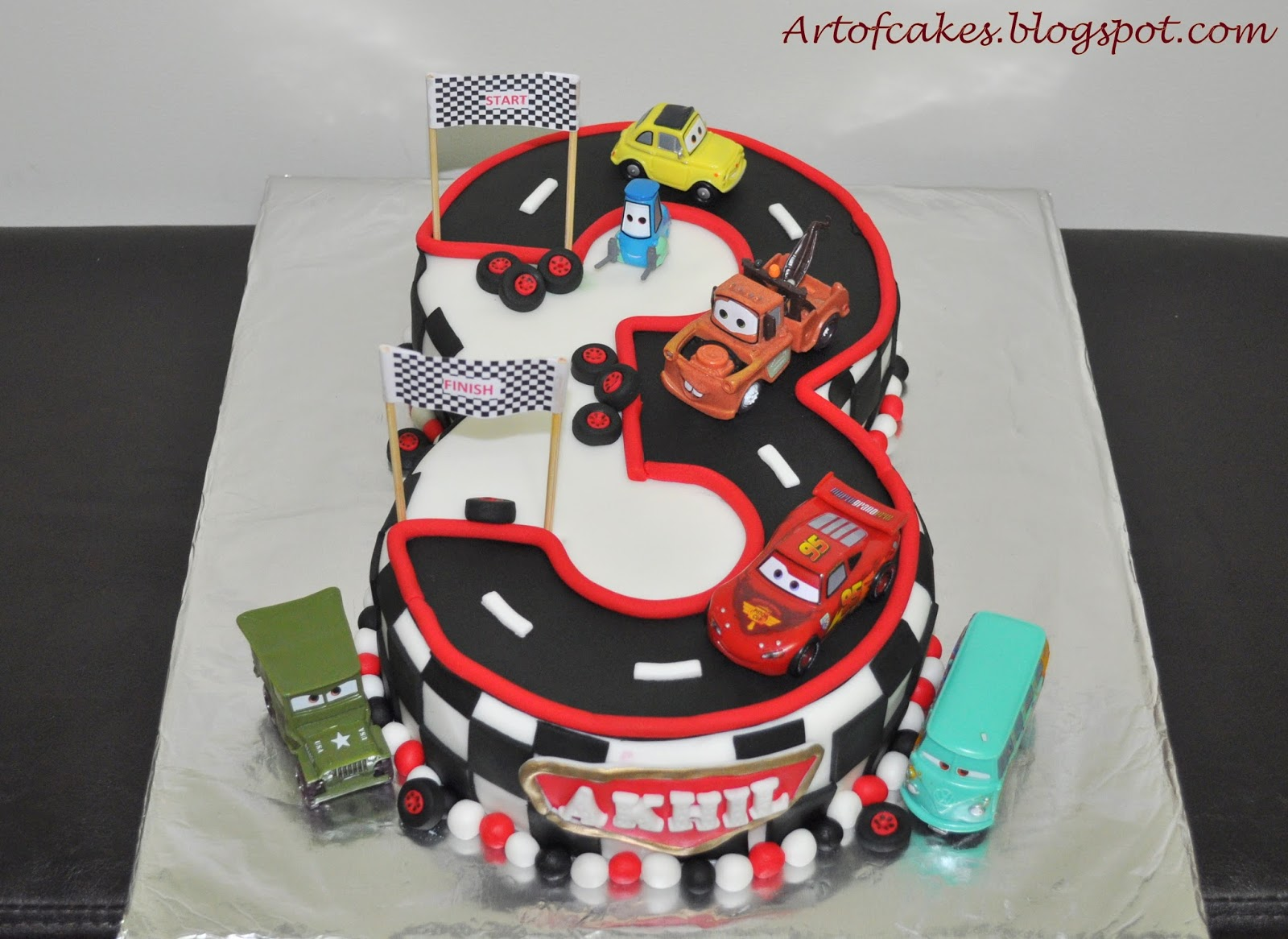8 Cars Cakes Disney Baby Photo Disney Cars Baby Shower Cake Ideas