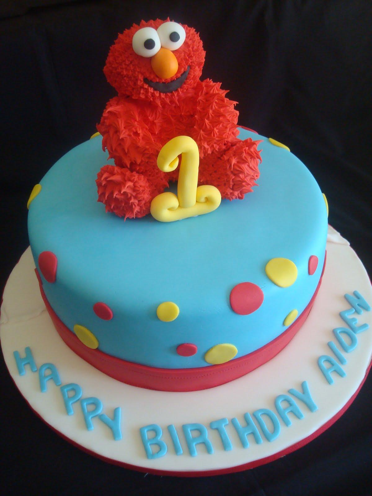 10 Elmo Birthday Cakes For Boys Photo