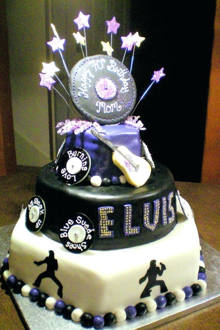 11 Elvis Birthday Cakes 3 Tear Photo Elvis Birthday Cake Elvis
