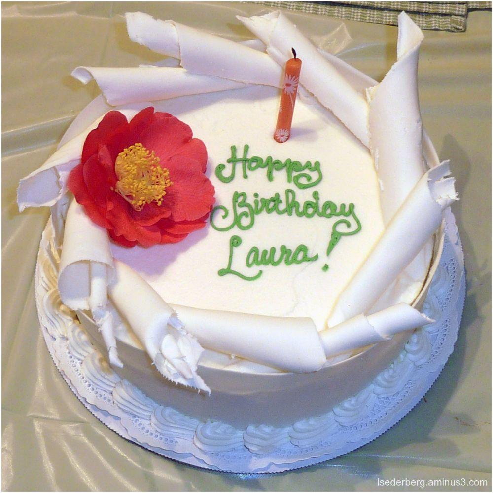 Открытка с днем рождения лаура