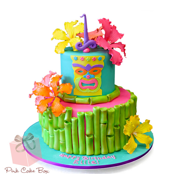 Miraculous 8 Luau Birthday Cakes Zebra Print Photo Hawaiian Luau Birthday Personalised Birthday Cards Cominlily Jamesorg