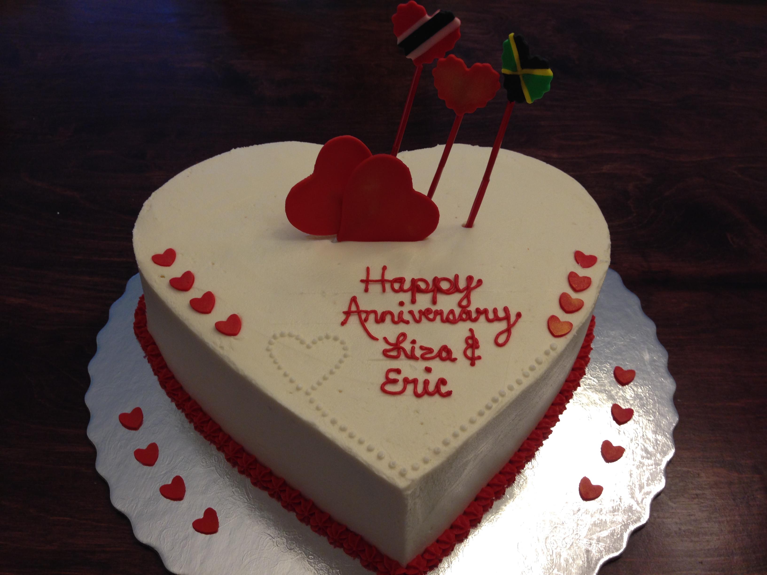 Anniversary cake photo directory page snackncake