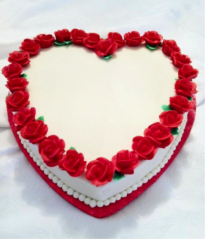 Incredible 11 Heart Shaped Cakes Photo Heart Shaped Cake Red Velvet Cake Funny Birthday Cards Online Fluifree Goldxyz