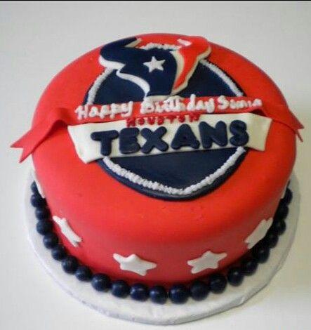 Houston Texans Birthday Cake