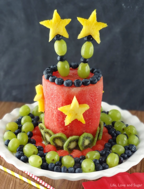 How To Make Birthday Cake Made Out Of Fruit