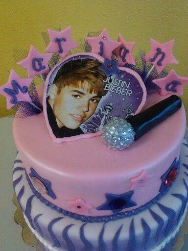 Excellent 12 11 Justin Bieber Cakes Photo Justin Bieber Birthday Cake Funny Birthday Cards Online Elaedamsfinfo