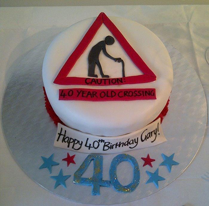 8 Funny 40th Birthday Cakes Photo Funny 40th Birthday Cakes Ideas