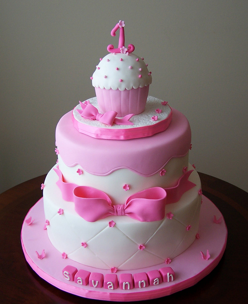 Pleasing 10 Cute 1St Birthday Girl Cakes Photo Girls Birthday Cake Funny Birthday Cards Online Inifofree Goldxyz