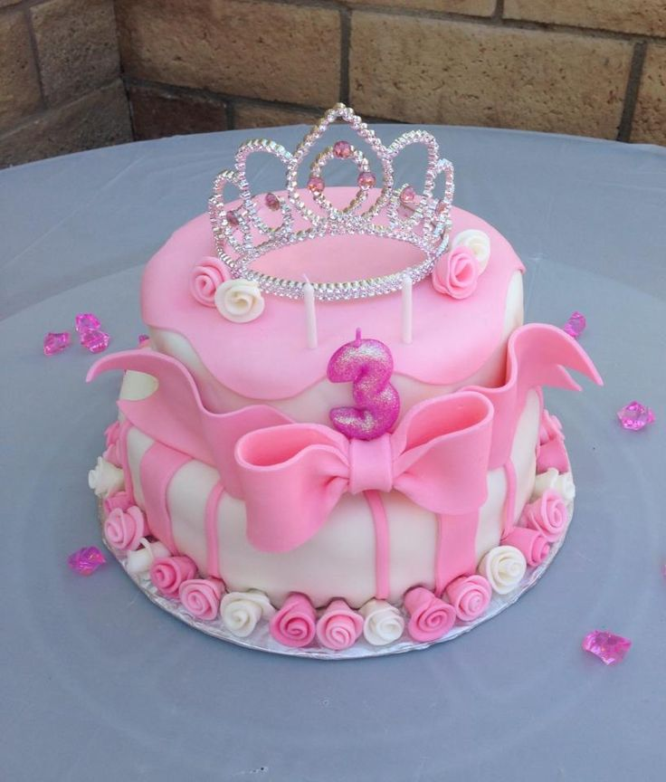 Excellent 10 Princess Birthday Cakes Photo Pink Princess Birthday Cake Personalised Birthday Cards Paralily Jamesorg