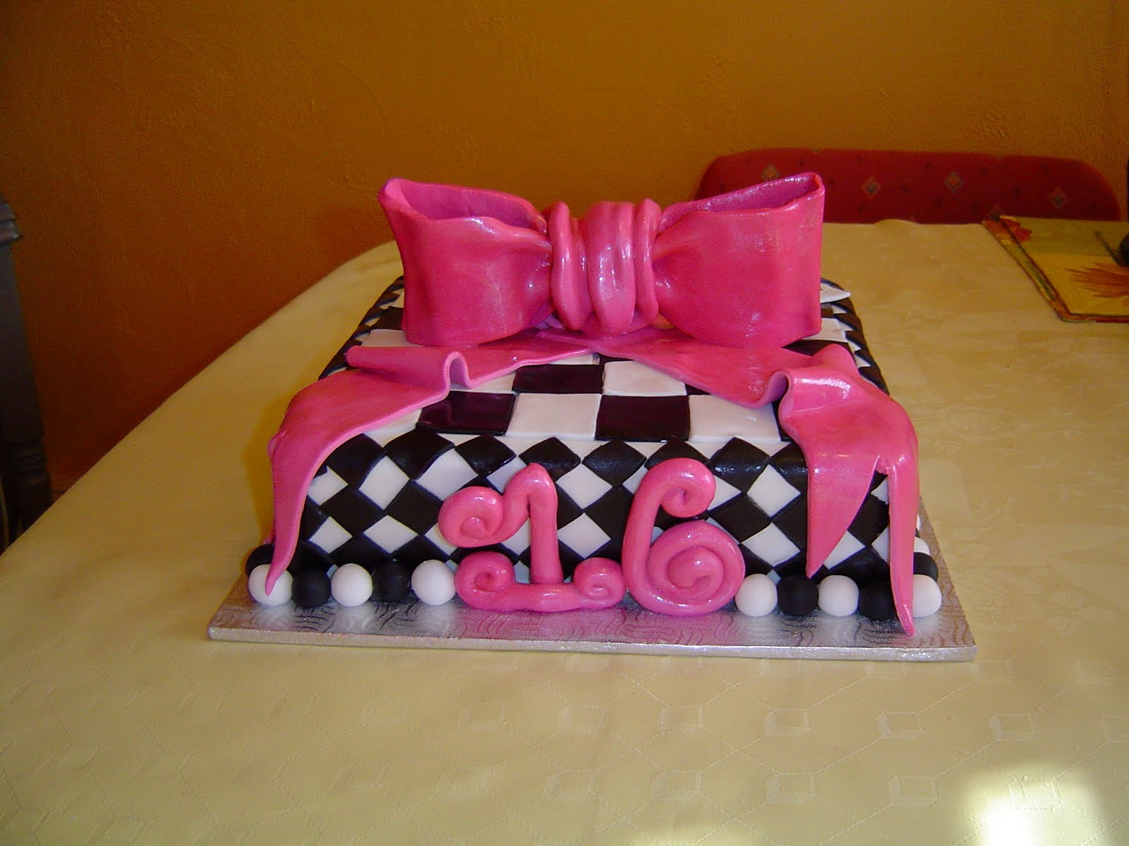 Sweet 16 Birthday Cake Ideas For Girls