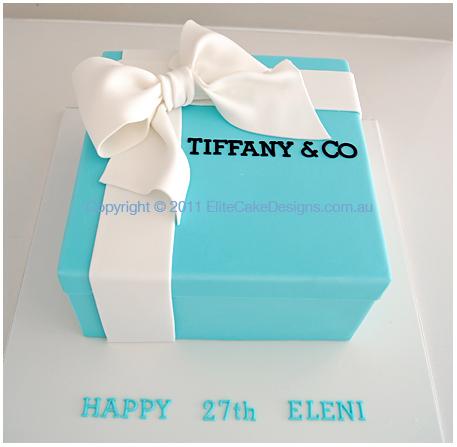Stupendous 11 Pinterest Tiffany And Co Cakes Photo Tiffany And Company Funny Birthday Cards Online Benoljebrpdamsfinfo