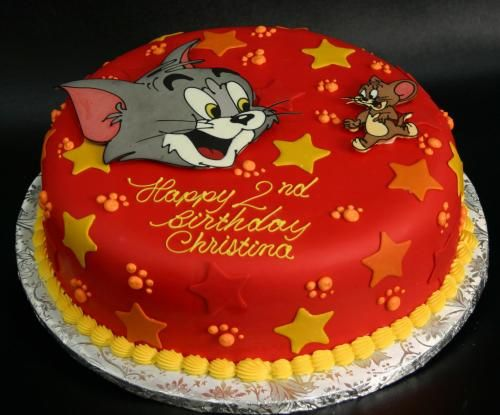 Cool 6 Adult Birthday Cakes For Tom Photo Tom And Jerry Birthday Cake Birthday Cards Printable Trancafe Filternl