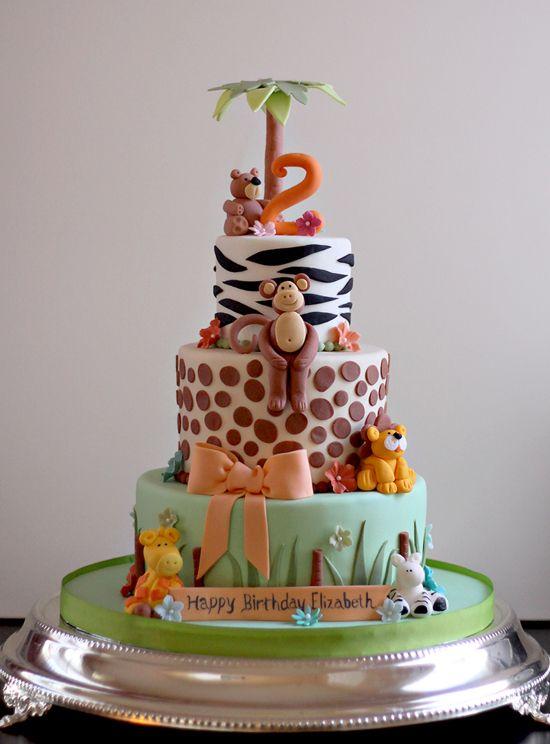 Fantastic 12 Zoo Animal Birthday Cakes 6Th Birthday Photo Zoo Animals Funny Birthday Cards Online Amentibdeldamsfinfo