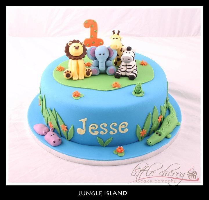 12 Zoo Animal Birthday Cakes 6th Birthday Photo Zoo Animals