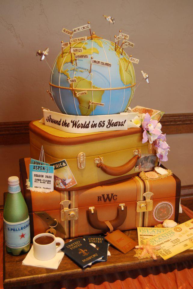 10 Around The World Themed Cakes Photo Cake Pops Around The World