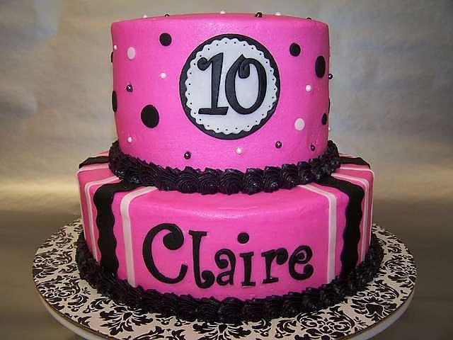 10 Year Old Birthday Cake Ideas Via