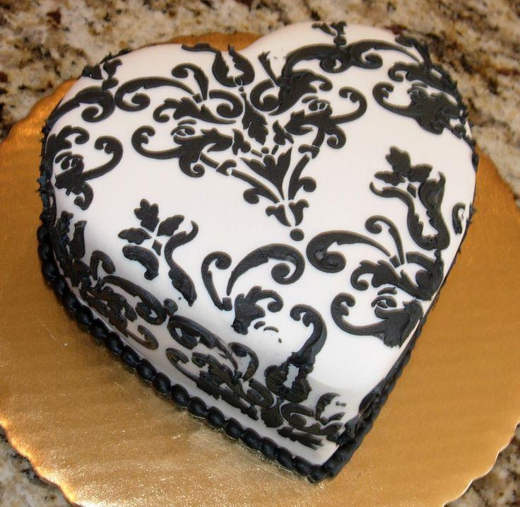 9 Black With White Icing Cakes Photo Black And White Cake Black