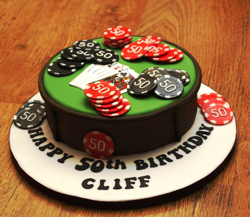 5 Texas Holdem Themed Cakes Photo Casino Poker Themed Birthday