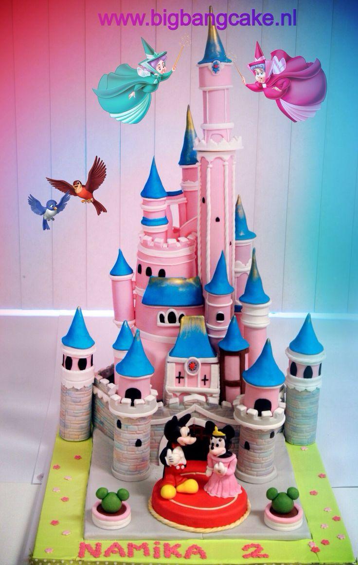 9 Cakes At Disneyland Photo Disneyland Birthday Cake Frozen