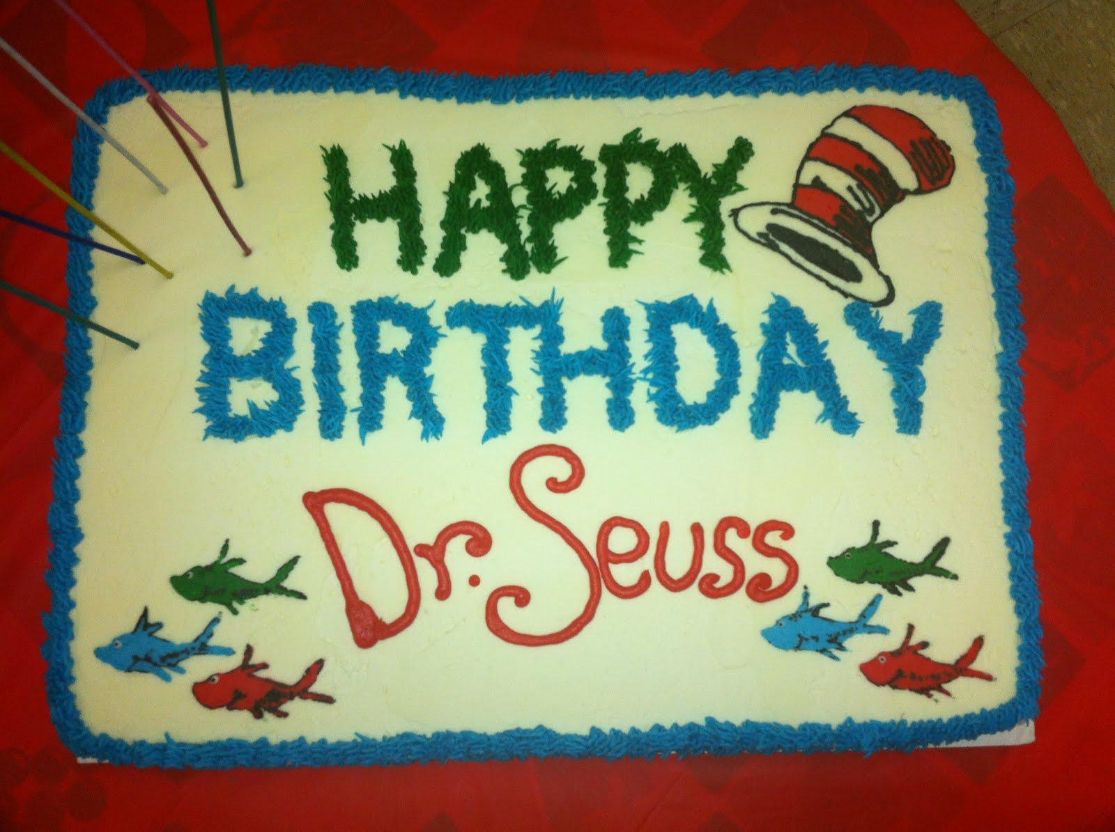 Strange 6 Dr Seuss Birthday Sheet Cakes Photo Dr Seuss Sheet Cake Dr Funny Birthday Cards Online Kookostrdamsfinfo