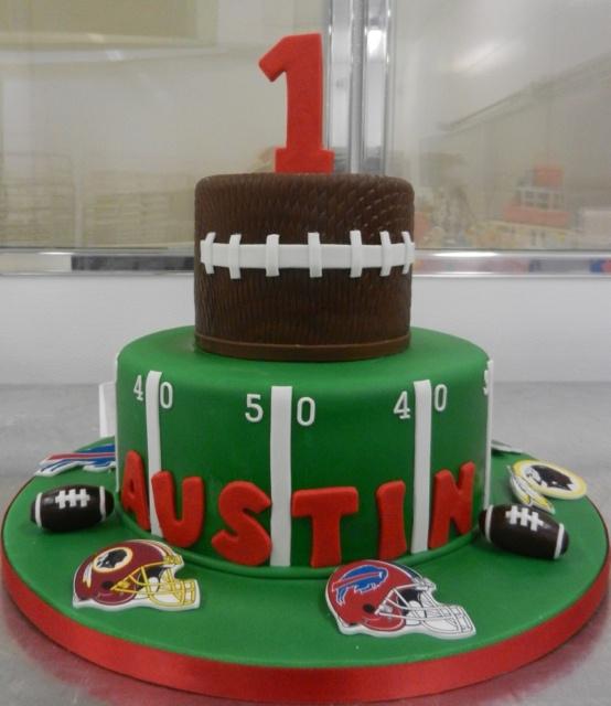 11 Football 1st Birthday Cakes Photo Football Birthday Cake